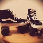 Custom Rollerskates |vans Sk8hi